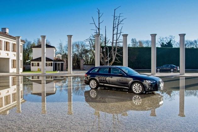 Presentazione stampa e flotte nuova Audi A4 e A4 Avant