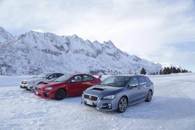Subaru Snow Drive Experience