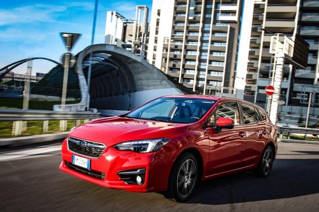 Nuova Subaru Impreza presentazione stampa